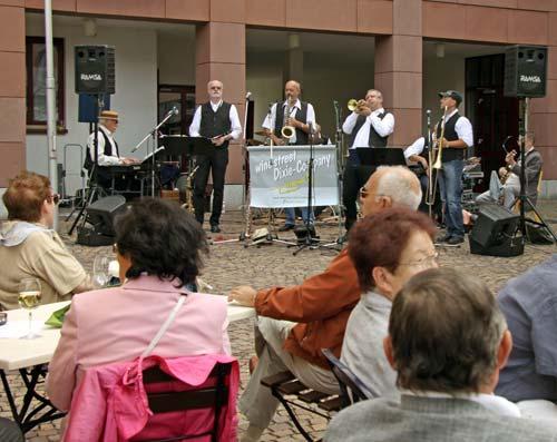 Jazz am Lederstrumpfbrunnen