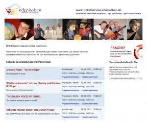 Tickets für Veranstaltungen in Edenkoben online reservieren
